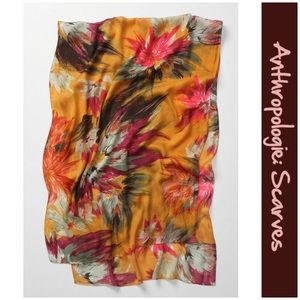 """Anthro """"Maize Floral Scarf"""" by Echo"""